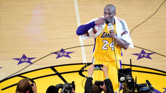Kobe's legendary Laker career