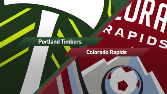 Portland 2-1 Colorado: Valeri, Nagbe lead the way - via MLS