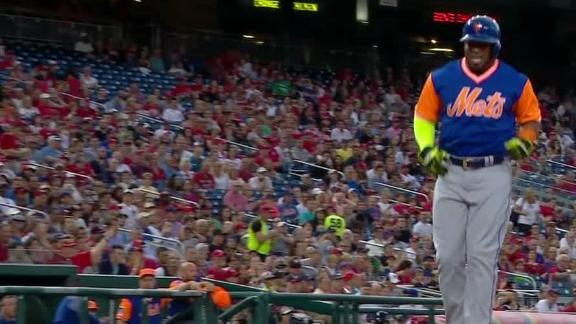 Cespedes hobbles off with injury