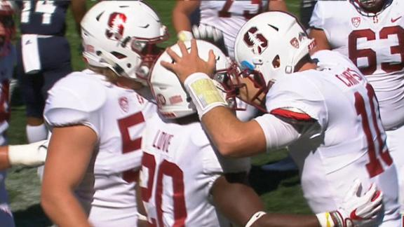 Stanford dominates Rice in 55-point win