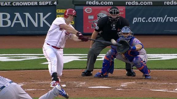 Schebler breaks tie with grand slam