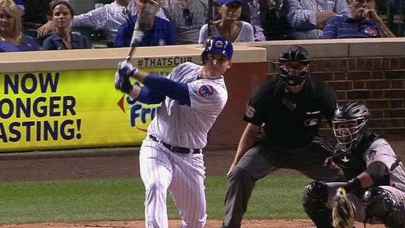 Rizzo's hit out of the reach of McCutchen