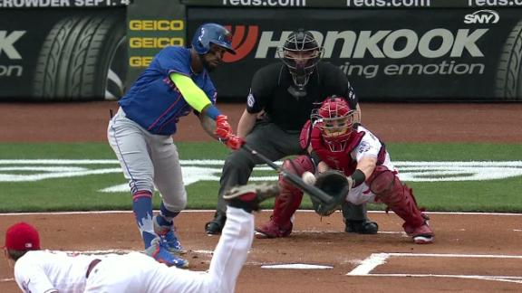 Mets use doubles to fuel win