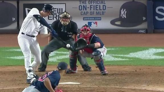Bird pads Yankees' lead with two-run homer