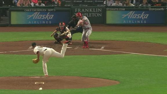 Grichuk sparks the Cardinals with an early homer