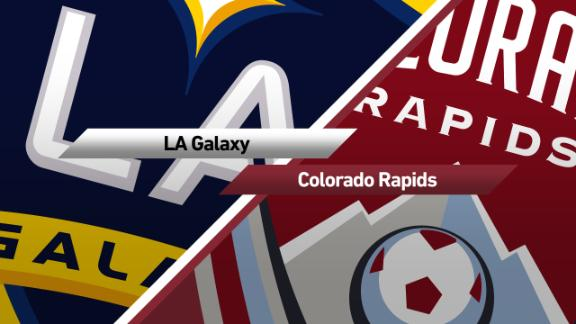 Galaxy 3-0 Rapids: LA's winless run ends - Via MLS