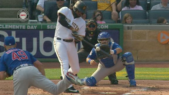 Bell's 2-run HR gives Pirates early lead