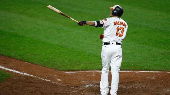 Machado's walkoff leads O's past Yanks