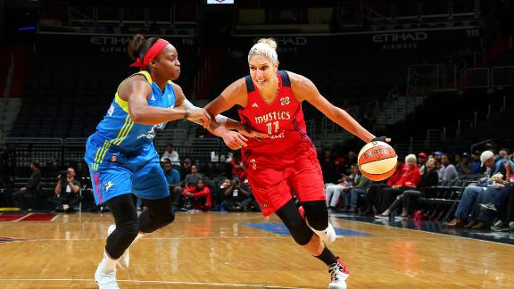 Mystics eliminate Wings in first round of WNBA playoffs