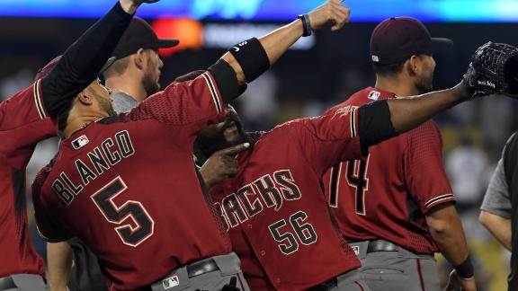 D-backs' 13th consecutive victory is a franchise record