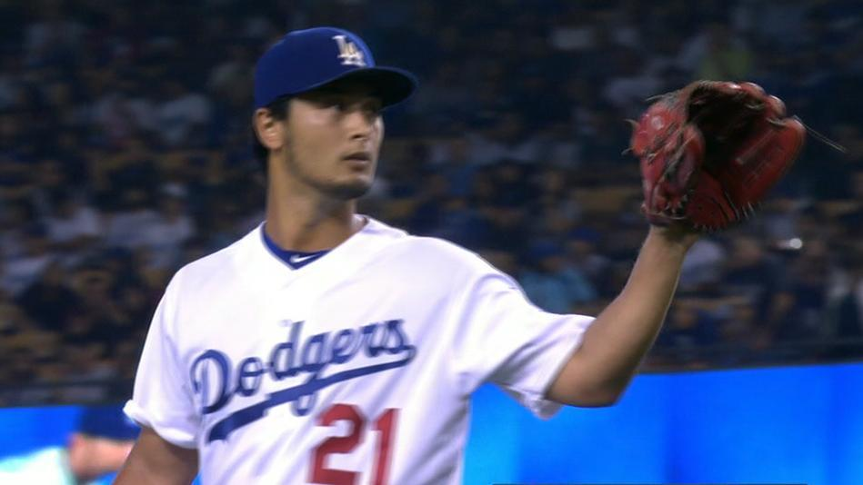 Darvish fastest to reach 1,000 K's as starter