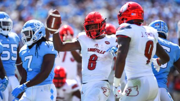 Jackson's monster 6-TD performance fuels Louisville