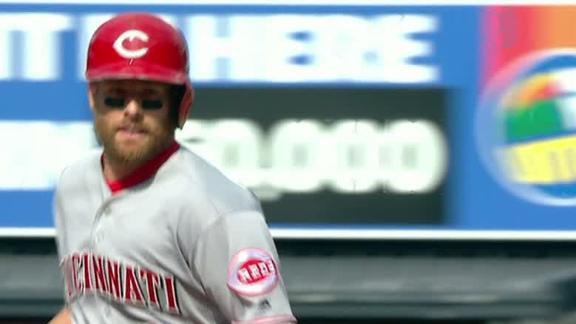 Cozart's 3-run HR ties it for Reds in 7th