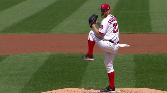 Strasburg strikes out 10 to lead Nats