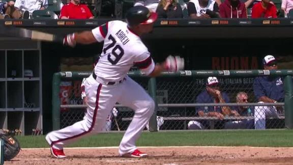 Abreu blasts two HR's to carry White Sox