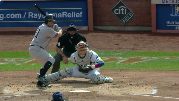 Gardner's 2-run single adds to Yankees' lead