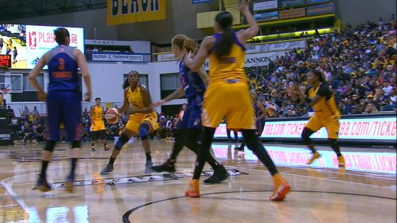 Sparks make Griner pay on turnover