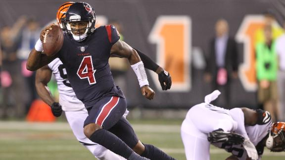 Watson leads Texans to win over Bengals