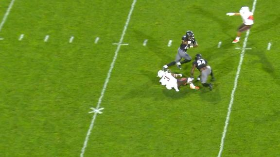 Bowling Green fumble leads to Northwestern TD