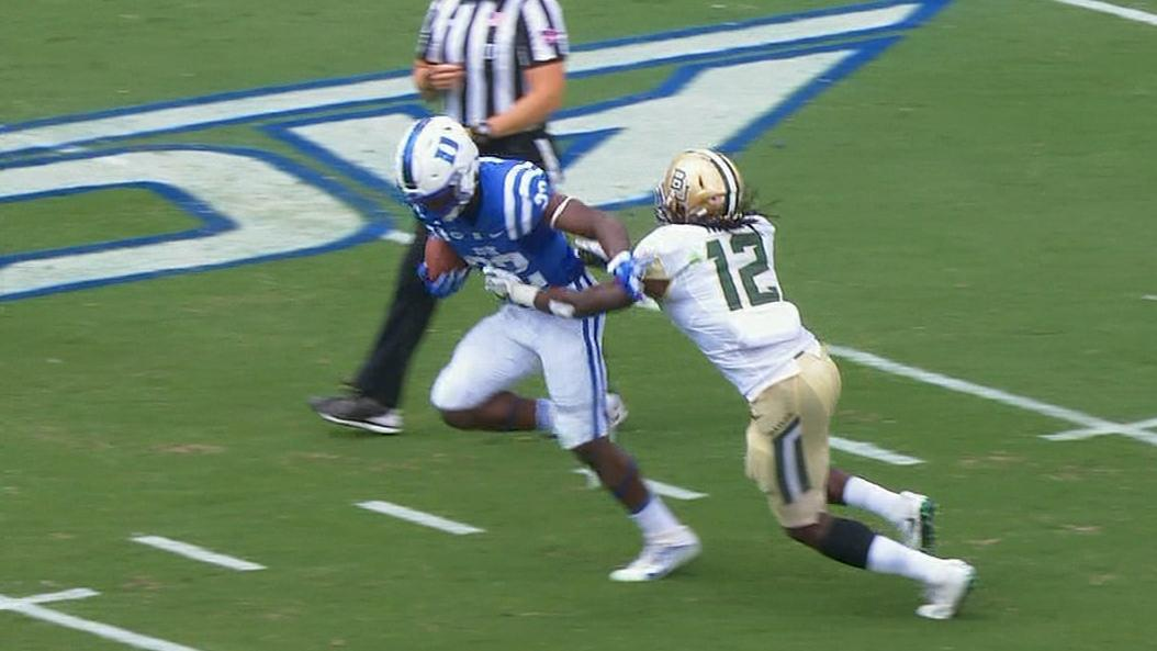 Duke's Brown channels his inner Beast Mode for 34-yard TD