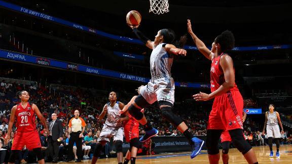 Lynx sweep Mystics, onto WNBA Finals