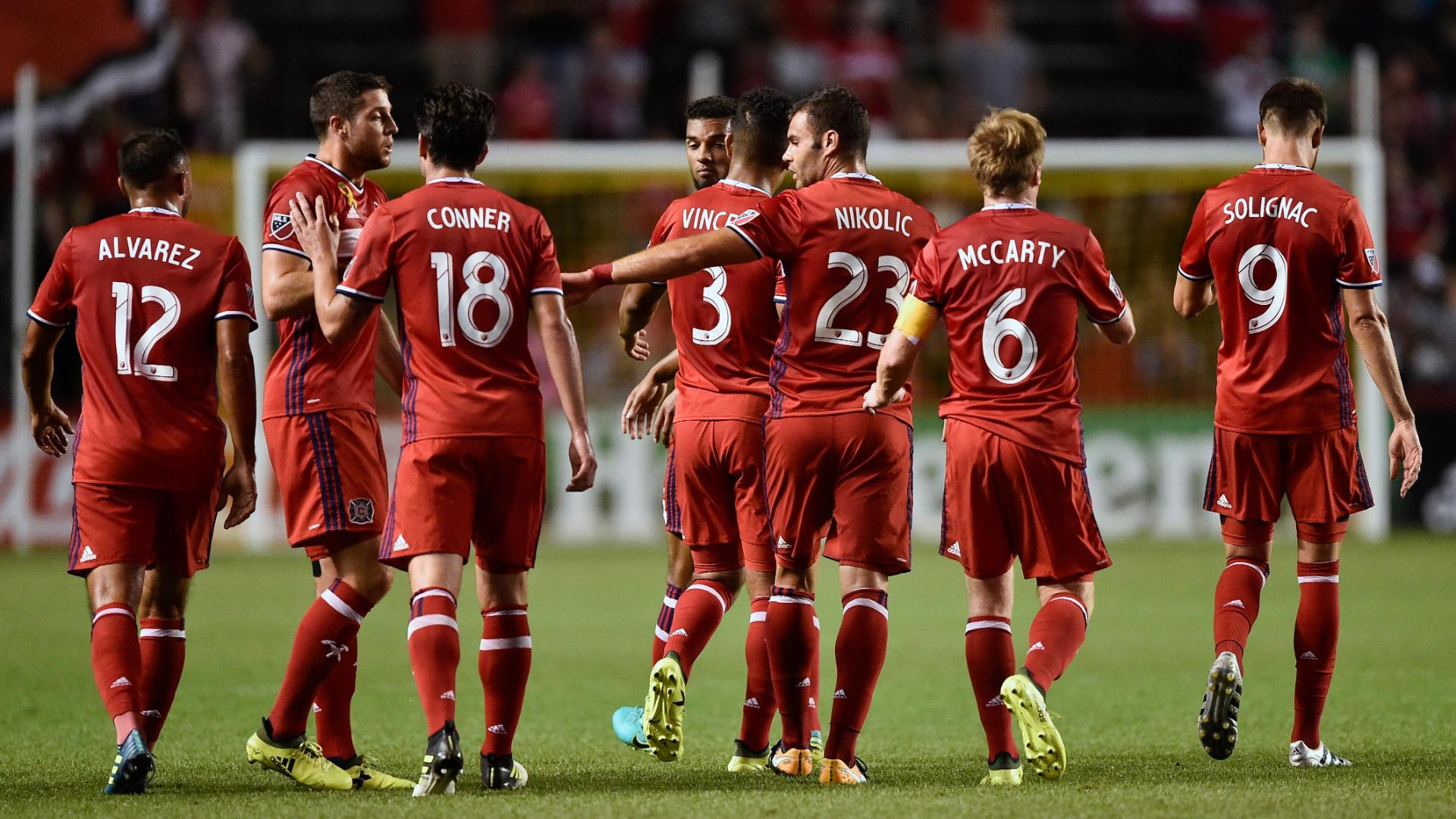 Chicago 3-0 D.C.: Nikolic ties record