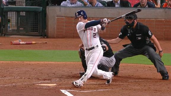 Bregman's RBI double gives Astros the lead