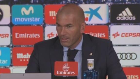 Zidane se animó al desafió de Marcelo