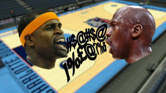 The time MJ out trash-talked Stephen Jackson