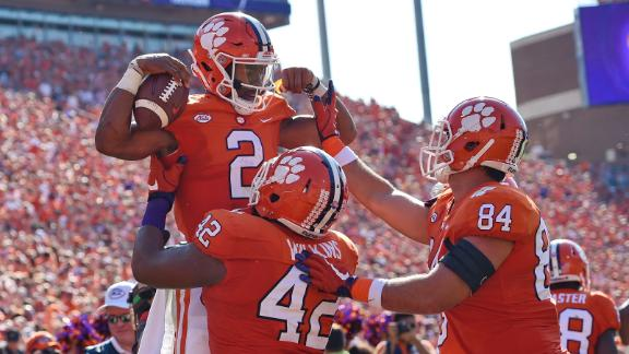 Clemson pulls away late to top Boston College