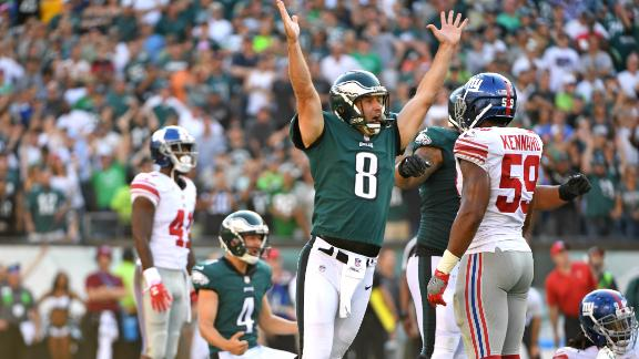 Eagles drop Giants to 0-3