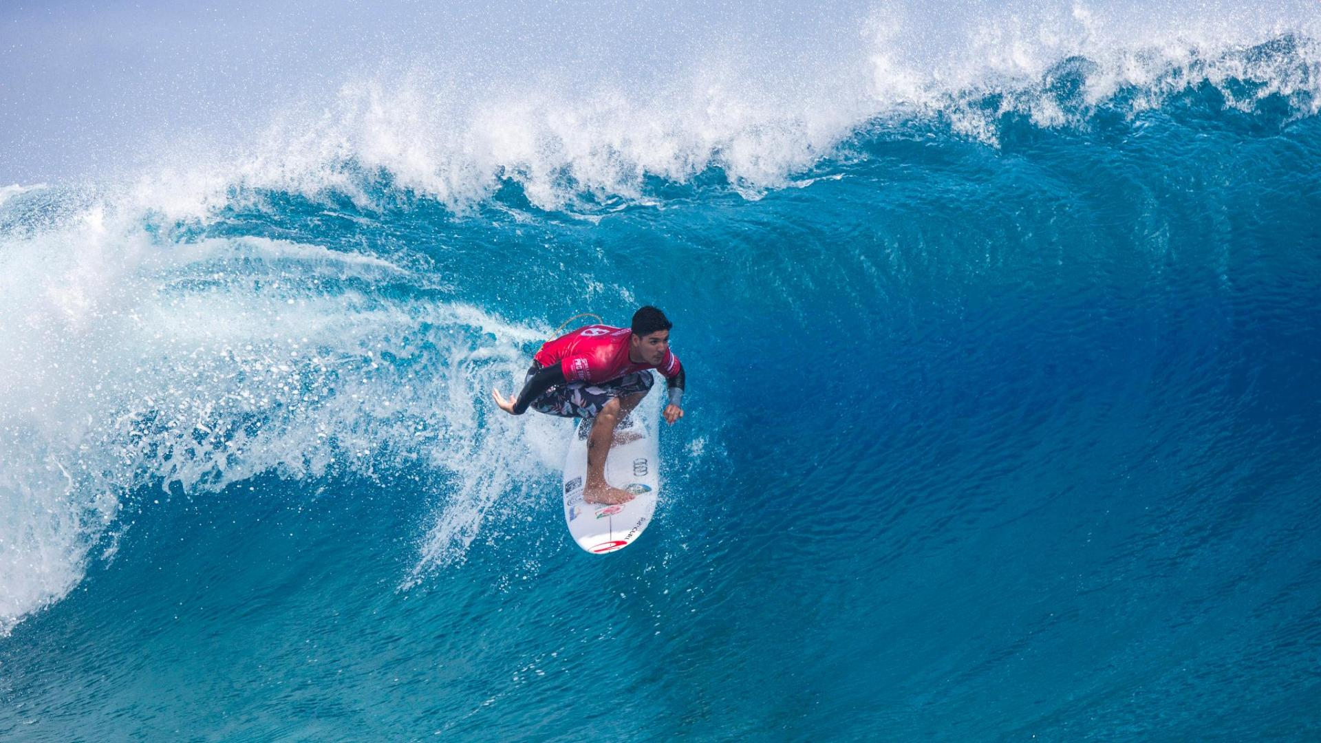 Tune in to the WSL's Billabong Pro Tahiti on ABC