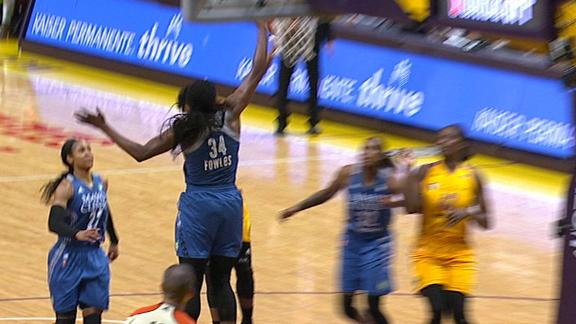 Fowles gets up for impressive rejection