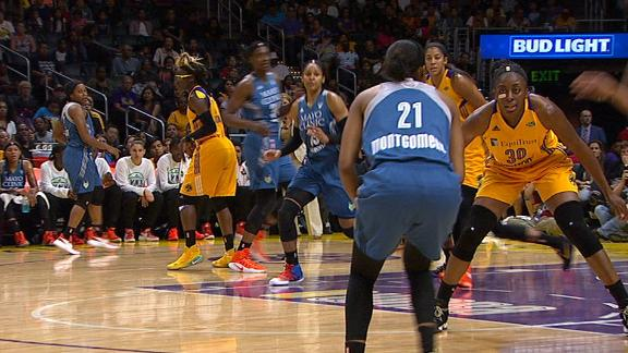 Montgomery's 3-pointer adds to Minnesota's lead