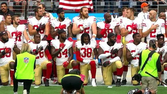 http://a.espncdn.com/media/motion/2017/1001/dm_171001_Thirty_49ers_kneel_before_game/dm_171001_Thirty_49ers_kneel_before_game.jpg