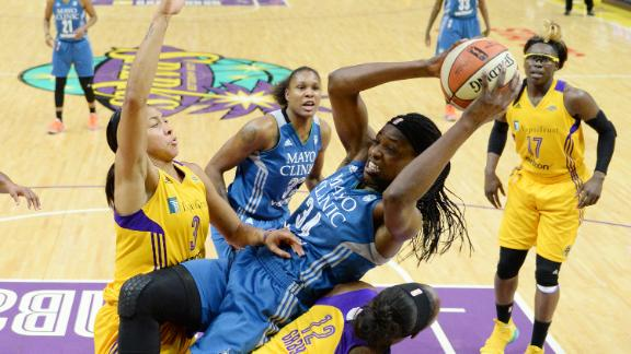 Lynx force Game 5 with road win in LA