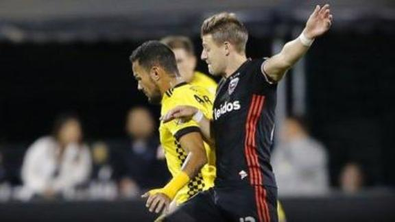 Columbus 2-0 D.C. United: Crew SC book playoff spot