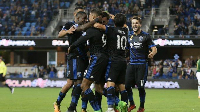 San Jose 2-1 Portland: Quakes get big win - Via MLS