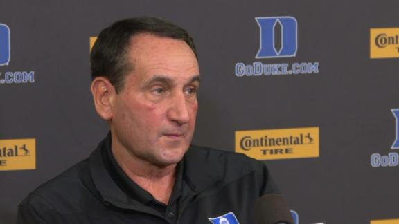 Coach K calls for change in college basketball model