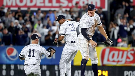 Severino struggles, Yankees rally  for wild-card win