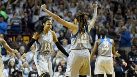 Lynx capture fourth WNBA title in seven years