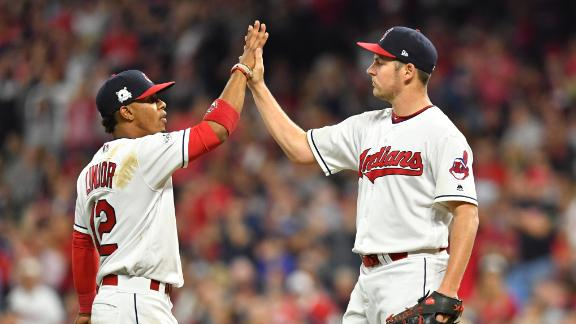 Bauer, Indians blank Yankees