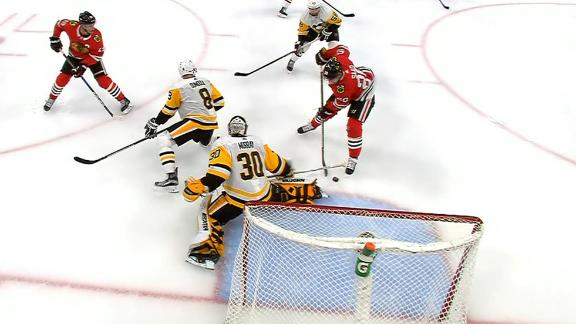 Saad nets hat trick in blowout win vs Penguins