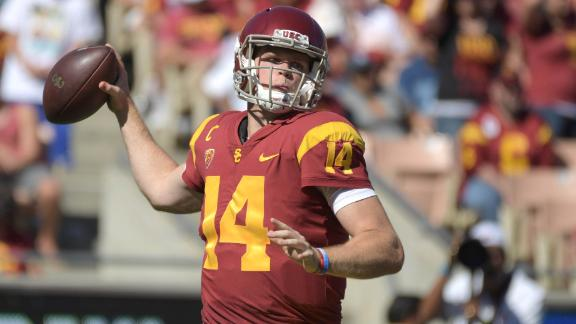 USC bounces back in rout of Oregon State