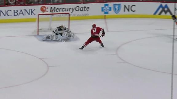 Slavin's shootout goal is difference for Carolina