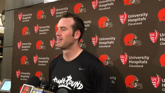 Hogan, Kizer address Browns QB change