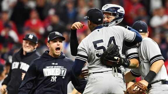 Yankees erase 2-0 deficit to down Indians