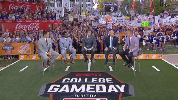Herbstreit says it is not over for Clemson
