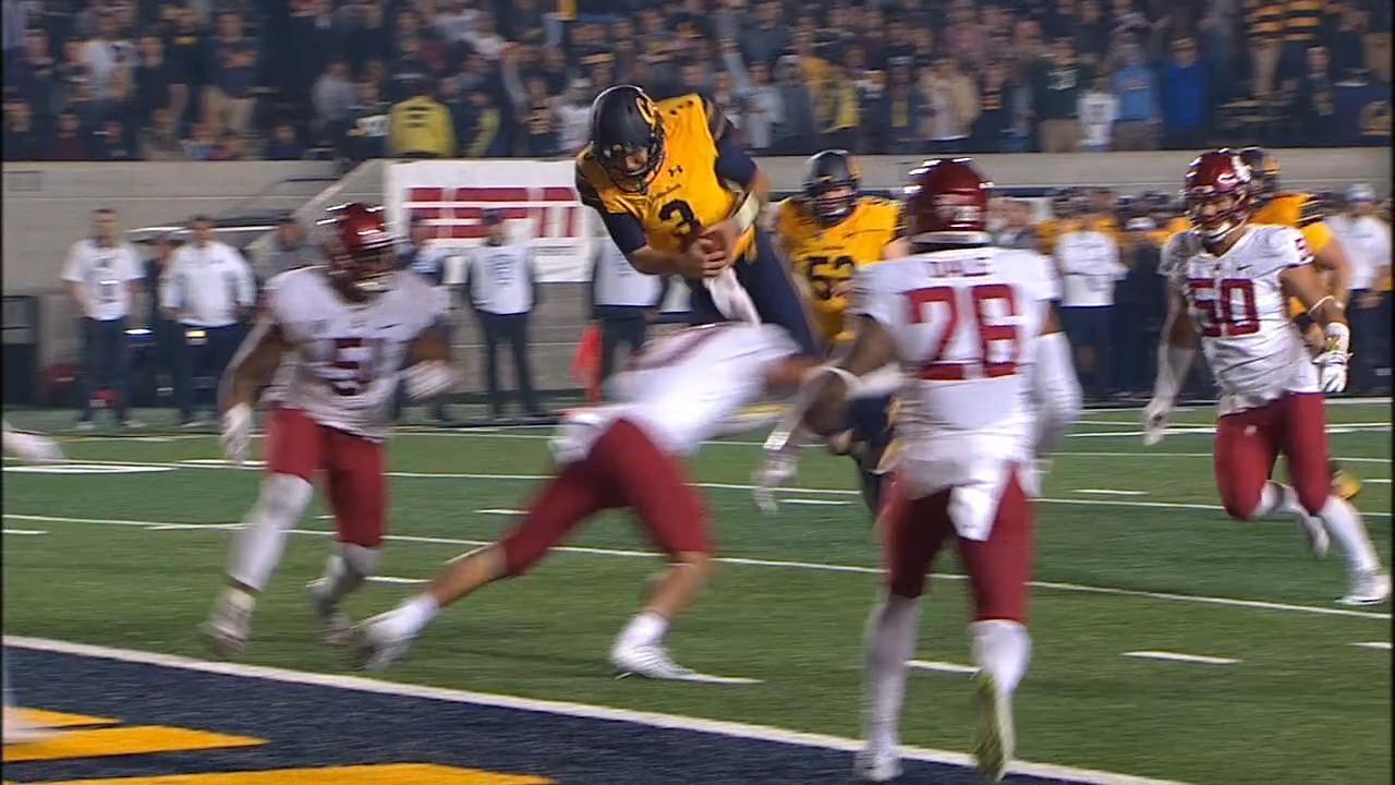 Ross Bowers takes flight to lift Cal