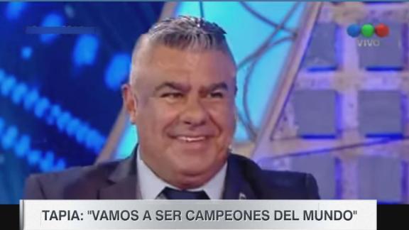 Tapia: 'Vamos a ser campeones del mundo'